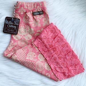 Matilda Jane | Sugar Rush Cropped Ruffle Pants